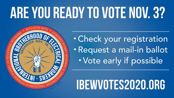 IBEW Ready To Vote 600px