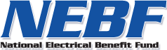 National Electrical Benefit Fund (NEBF) logo
